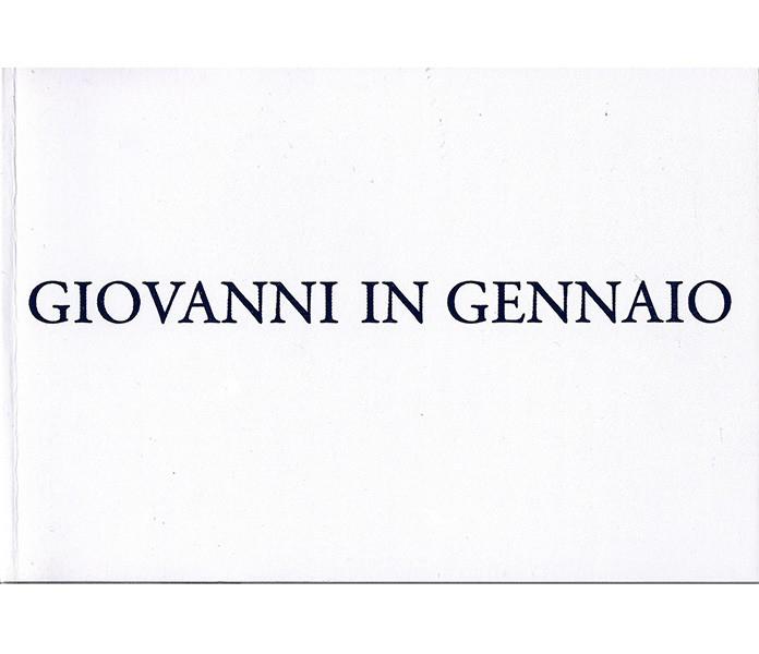 Giovanni in Gennaio